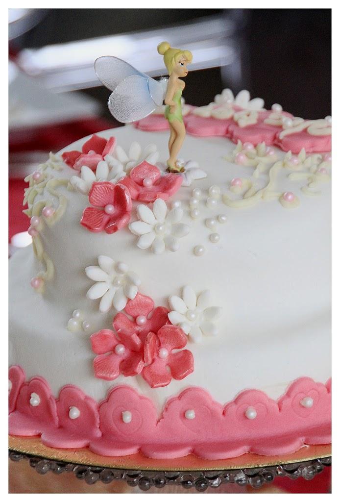 Cake Design La Fee Clochette Et Pate A Sucre Quatre Saisons Au