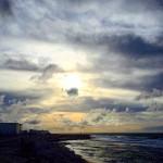 Port de Carro aprs la pluiecotebleue marseille mer ciel nuagesskyhellip