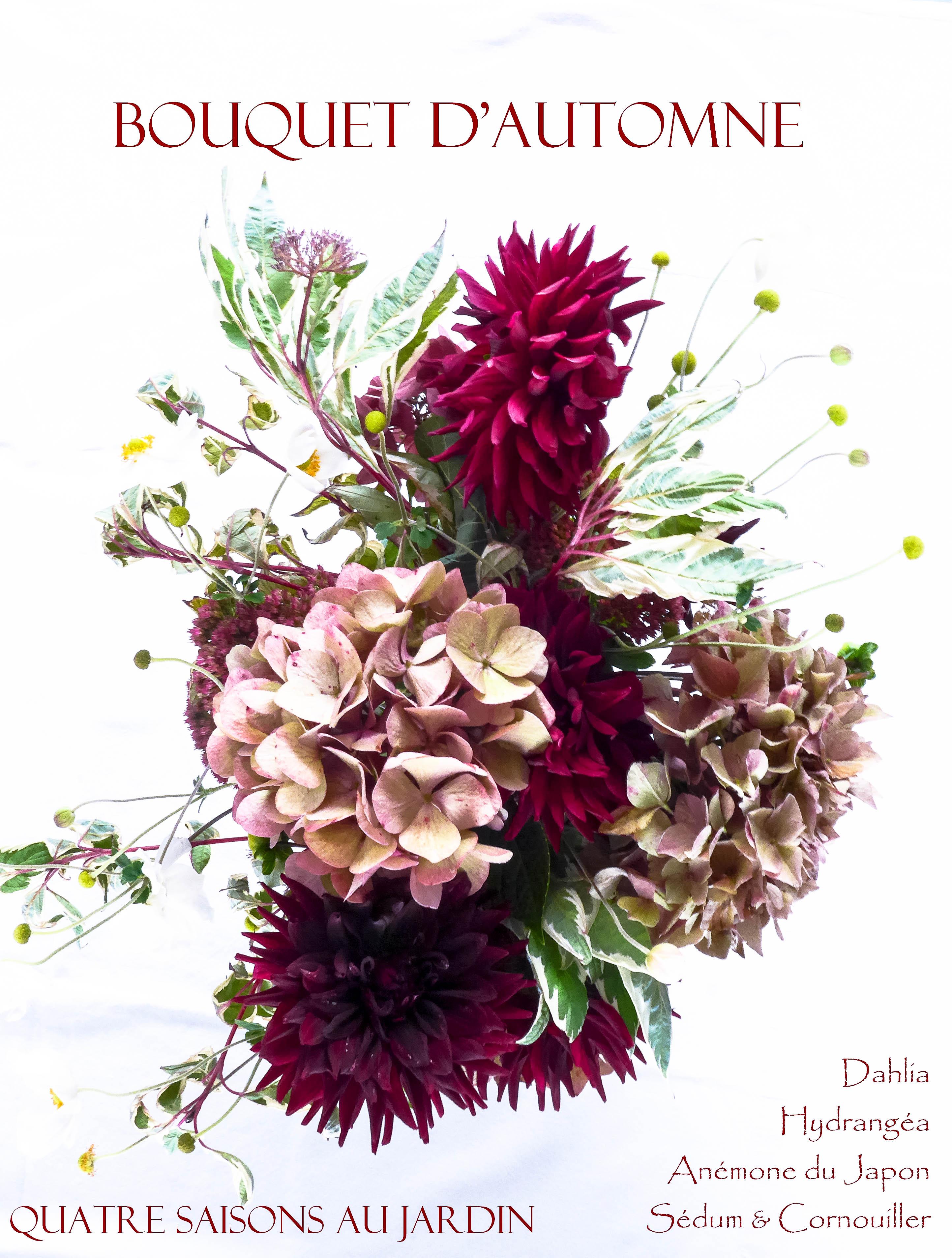Bouquet d 39 automne quatre saisons au jardin - Bouquet d automne ...