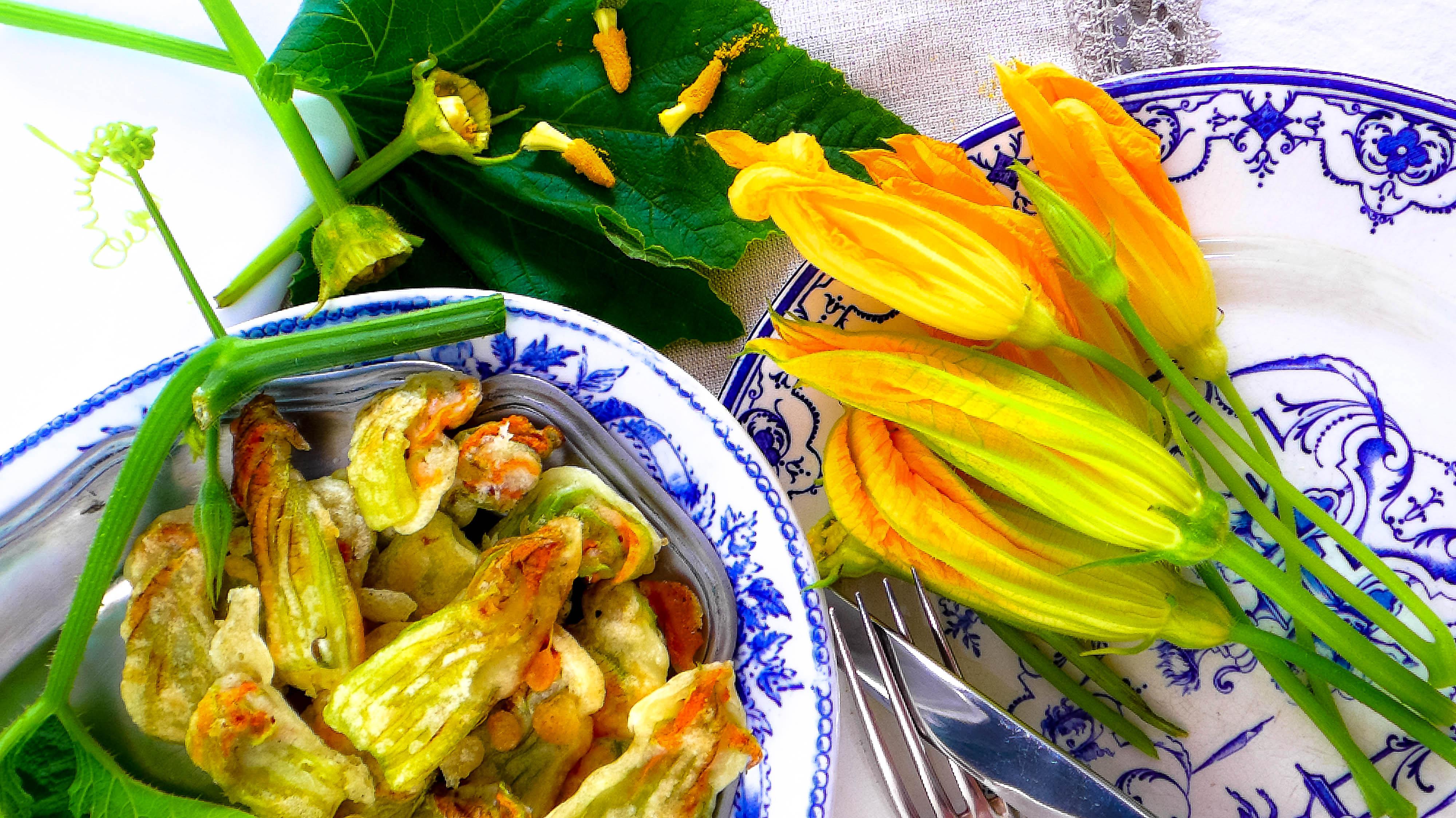 Beignets de fleurs de courgettes du jaune pour la journ e mondiale pour l 39 endom triose - Maladie de la courgette ...