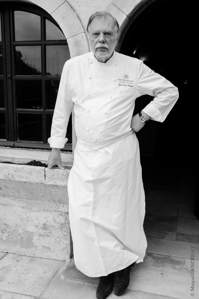 Monsieur André Charial, Les Maisons de Baumanière