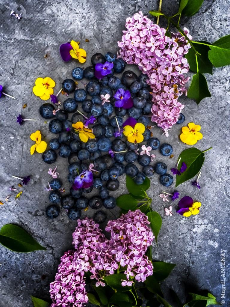 Décorations fruitière et florales