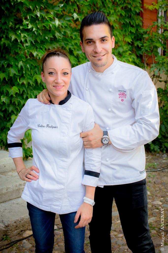 Coline Faulquier & Ludovic Turac....Une belle complicité culinaire