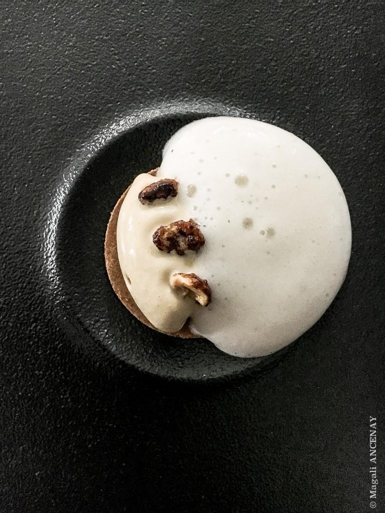 Picon bière cacahuète.... Dessert, une création d'Anne-Sophie Bercet