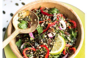 La Méthode Chataigner… salade de lentilles à l'orientale