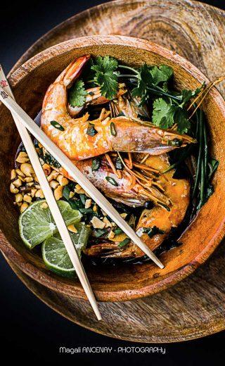 Soupe Miso aux crevettes