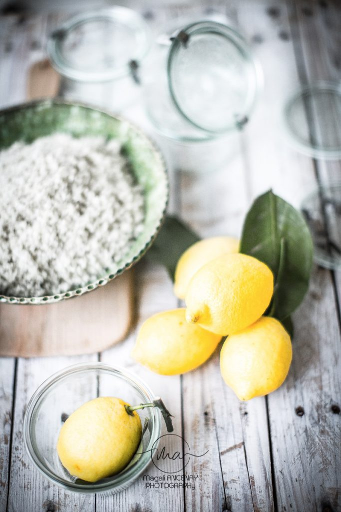 citrons confits au sel en saumure - Magali ANCENAY Photographe Culinaire