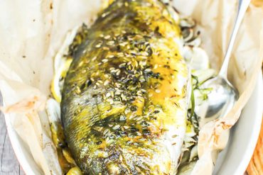 Dorade en papillotte de fenouil - Magali ANCENAY photographe culinaire