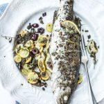 Loup en chapelure de condiments - Magali ANCENAY photographe culinaire