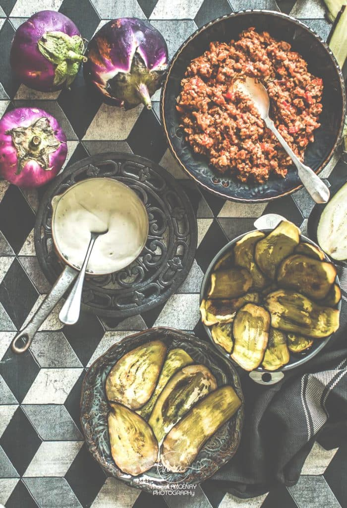Moussaka du chef Evi Evane - Magali ANCENAY Photographe Culinaire