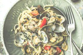 Linguinis Palourdes - Magali ANCENAY Photographe culinaire