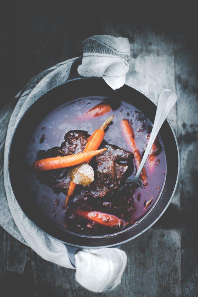 Boeuf bourguignon - Magali ANCENAY Photographe Culinaire