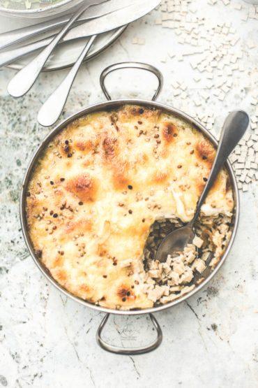 Gratin de crozets raclette - Magali ANCENAY Photographe Culinaire