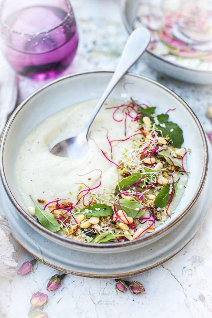 Soupe panais topinambour - Magali ANCENAY PHOTOGRAPHE Culinaire