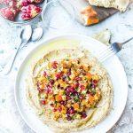 Houmous grenade kaki & Salade d'hiver vitaminée - Magali ANCENAY PHOTOGRAPHE Culinaire